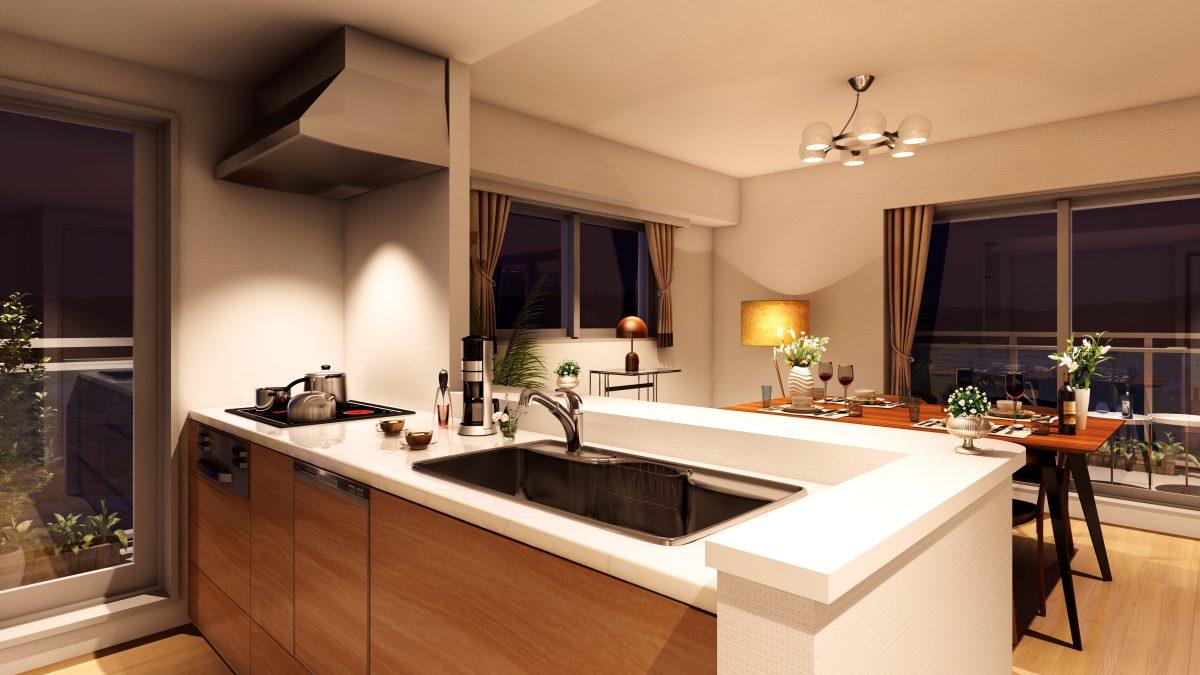 オール電化 キッチン