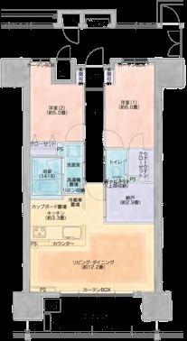 B Type - 間取り図