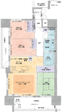 D Type - 間取り図
