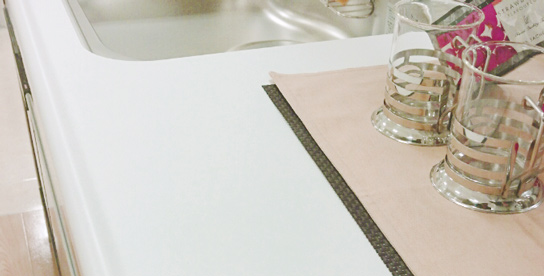 人造大理石キッチンカウンタートップ
